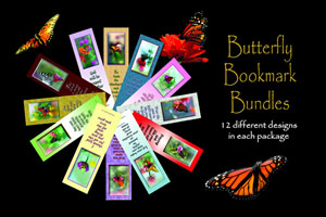 Butterfly Bookmark Bundle #PBB-0732