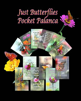 Pocket Palanca© - Just Butterflies #PPB-0700